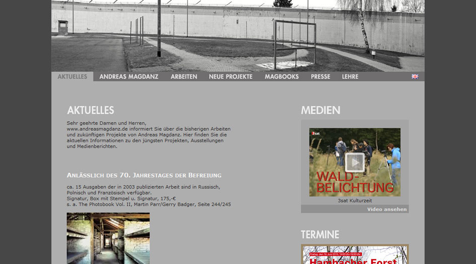 Andreas Magdanz Homepage